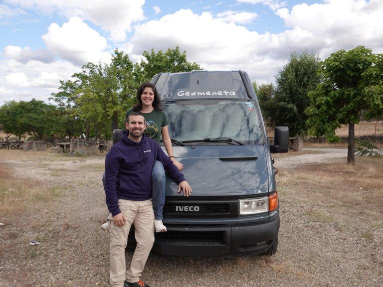 Bea y Rober de. Germen Viajero_Foto1