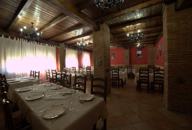 Restaurante del Hotel Rural Villa de Cañamero Geovilluercas